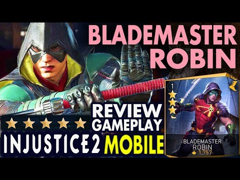 Injustice 2 Mobile: Blademaster Robin. Super move | Gameplay | Review. Android/IOS