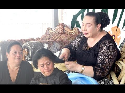 HRH Princess Pilolevu - Veikune Family Hair Cutting - In hon