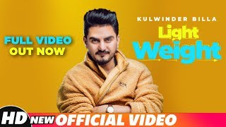 Light Weight Kulwinder Billa   Full Out Now On Speed Records