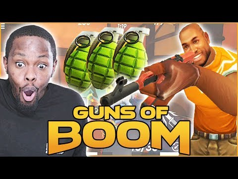 SUPER FUN MOBILE FIRST PERSON SHOOTER! - Guns Of Boom | Mobile Gameplay