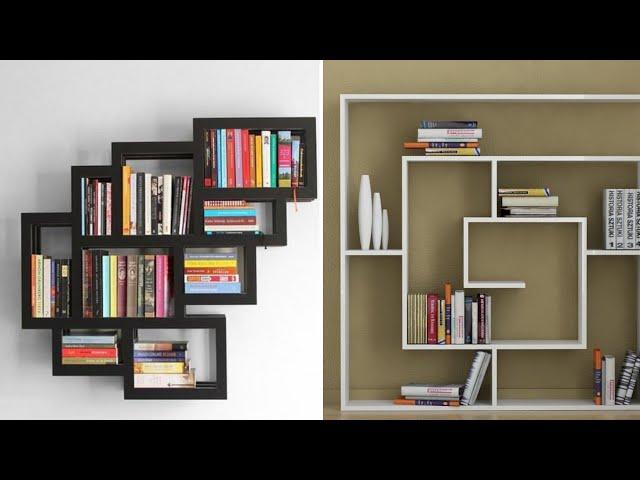 Modern Bookshelf Design Ideas 2020 Simple Beautiful Creative Wall Rack For Books Youtube