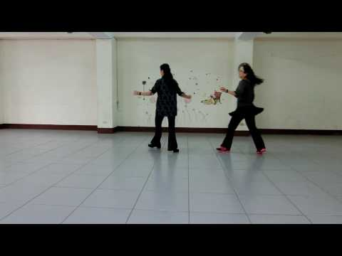 Let Your Love Flow (隨愛飛舞) - Line Dance (by Nina Chen)