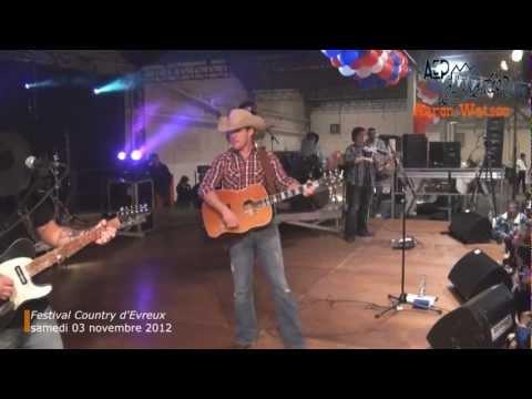 Aaron Watson (2/3) au Festival Country d'Evreux (Eure) samedi 03 novembre 2012