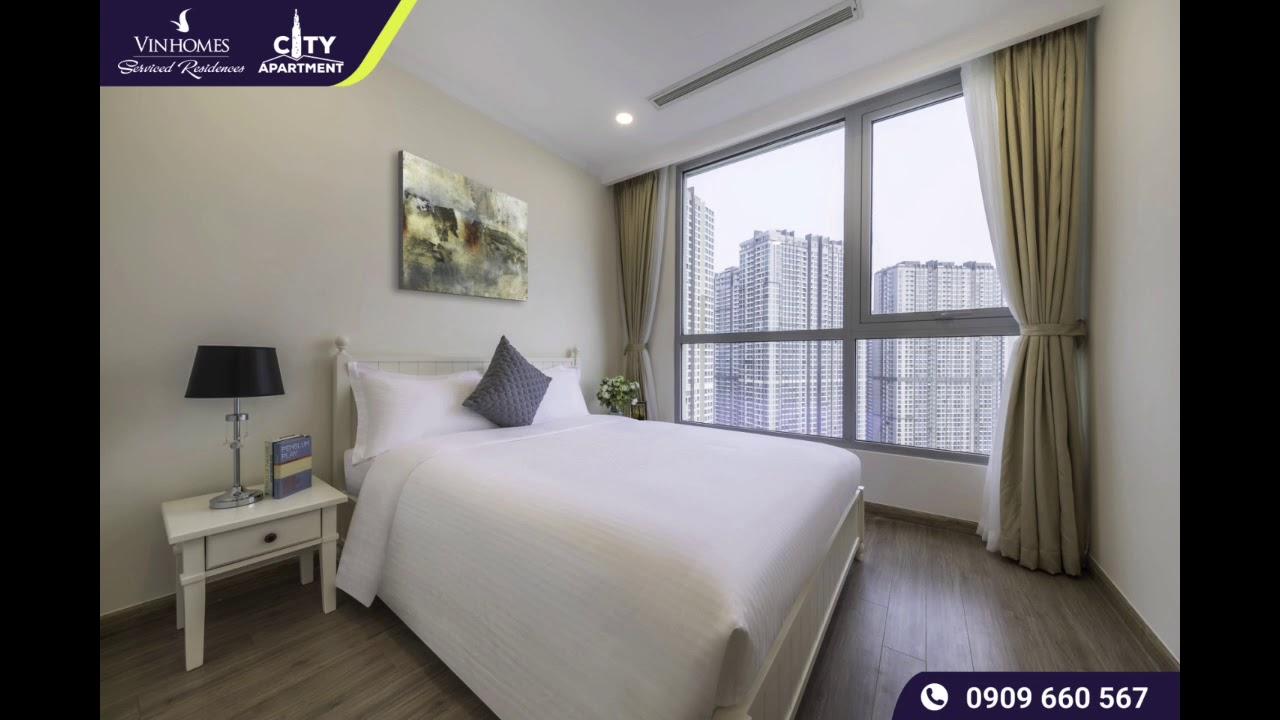 Giới thiệu căn hộ 3 phòng ngủ Vinhomes Serviced Residences tại Landmark Plus Vinhomes Central Park