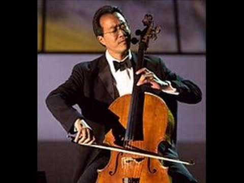 Yo Yo Ma plays paganini caprice 24 on cello