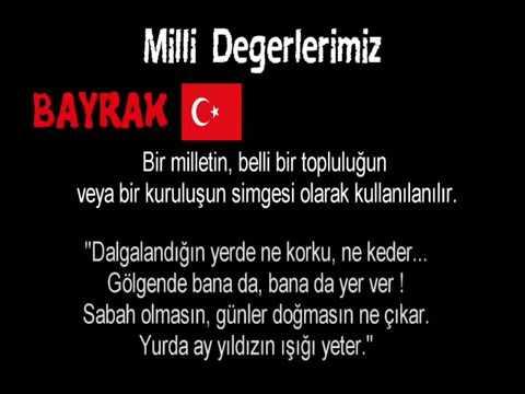 turkiye cumhuriyeti degerleri  milli  kulturel ve tarihi degerlerimiz