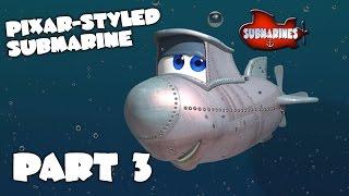 Blender Tutorial Series - Pixar-style Submarine - Part 3 - Texture painting