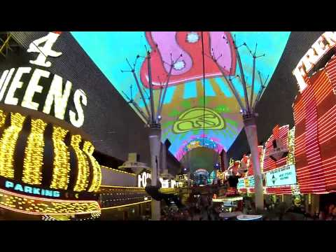 Fremont Street Zip Line | 1080p HD Flightlinez | Fremont Street Experience Las Vegas, NV
