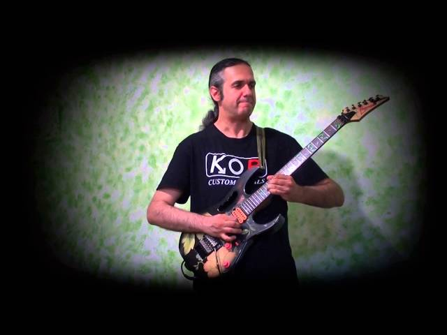 MARCELLO ZAPPATORE plays LOTUS FEET by STEVE VAI