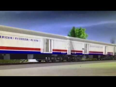 American Freedom Train 4449 on the NS Ferry Sub (Trainz 12)