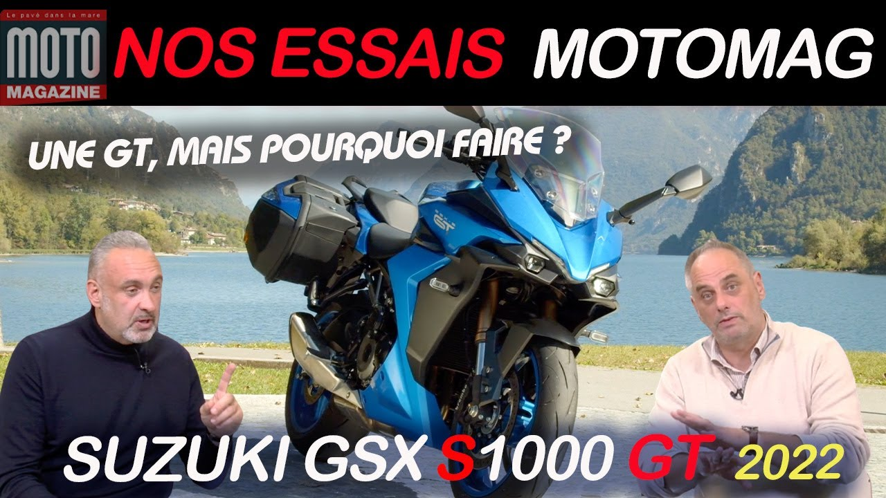 SUZUKI GSX-S 1000 GT 2021 | Essai Moto Magazine