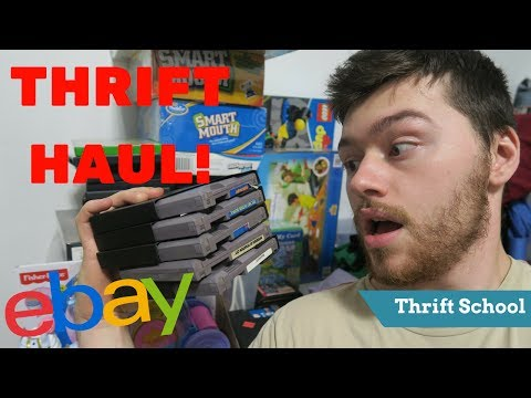 Thrift Haul from Goodwill and Savers for Amazon FBA and Ebay | Make Money Online