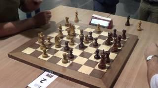 GM Shirov Alexei – IM Yuffa Daniil, Modern Benoni, live chess blitz