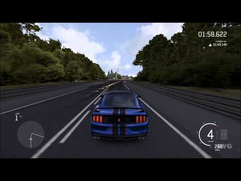 Forza Motorsport 6 - Ford Shelby GT350R 2016 | Top Speed 401 KMH (XboxONE HD) [1080p60FPS]