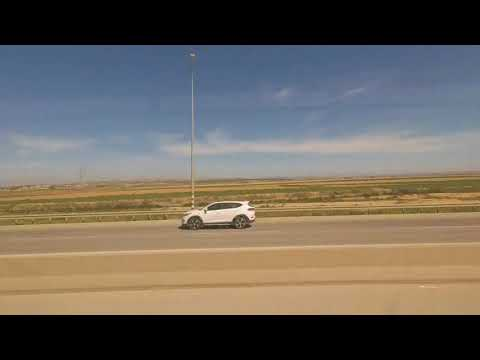Time lapse of drive to the Negev Desert
