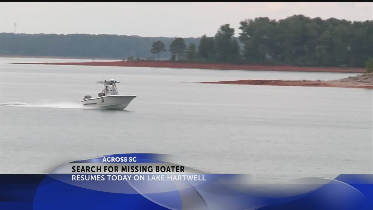 search resumes for man missing after boating accident on lake hartwell