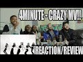 FIRST 4MINUTE CRAZY 미쳐 REACTION REVIEW mp3