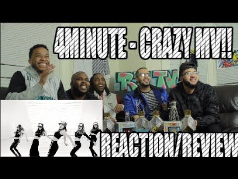 FIRST 4MINUTE - CRAZY 미쳐 REACTION/REVIEW