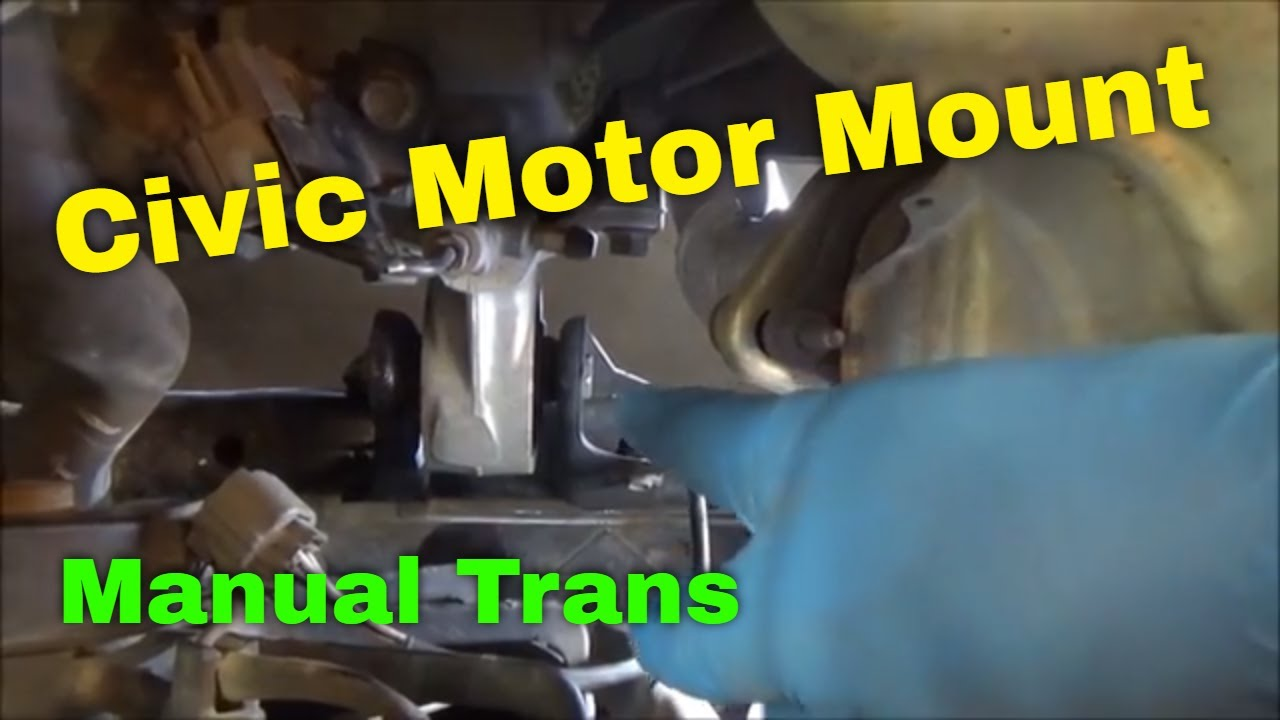 honda front engine mount replacement 2003 civic manual trans 2001