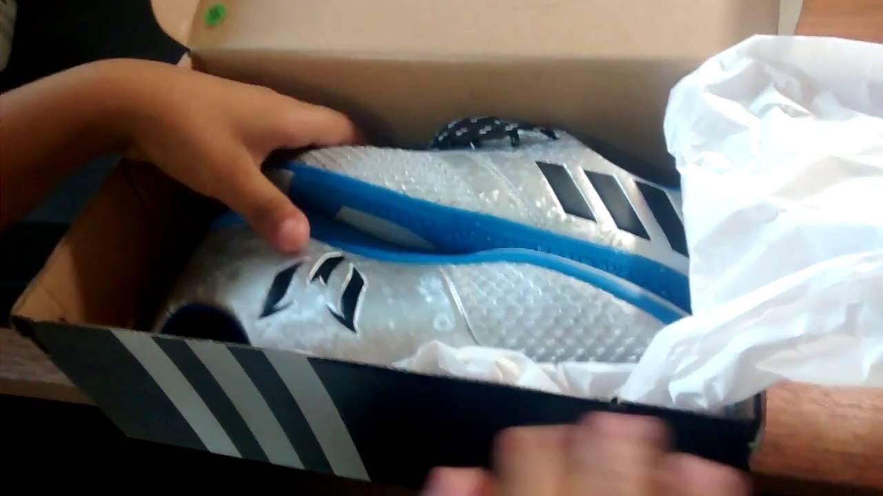 Adidas Messi pure Agilität (Mercury Pack) YouTube auspacken