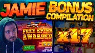 Sunday Slots Bonus Compilation -  Diamond Mine, Rise Of Merlin & more