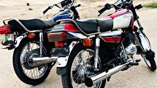 Kawasaki GTO 125 Vs Honda 125 Race..(2 Stroke Vs 4 Stroke)