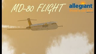 ROBLOX Allegiant Air MD-80 vol !