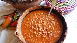 Charro Beans. Mexican Charro Beans