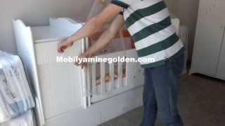 Damla Erkek Bebek Odası Takımı | Mobilyaminegolden.com | İnegöl Mobilyası