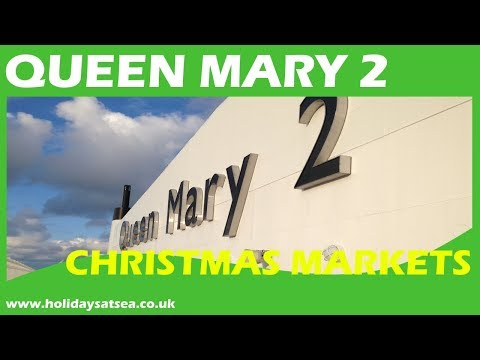 Christmas cruise on Cunard Queen Mary 2
