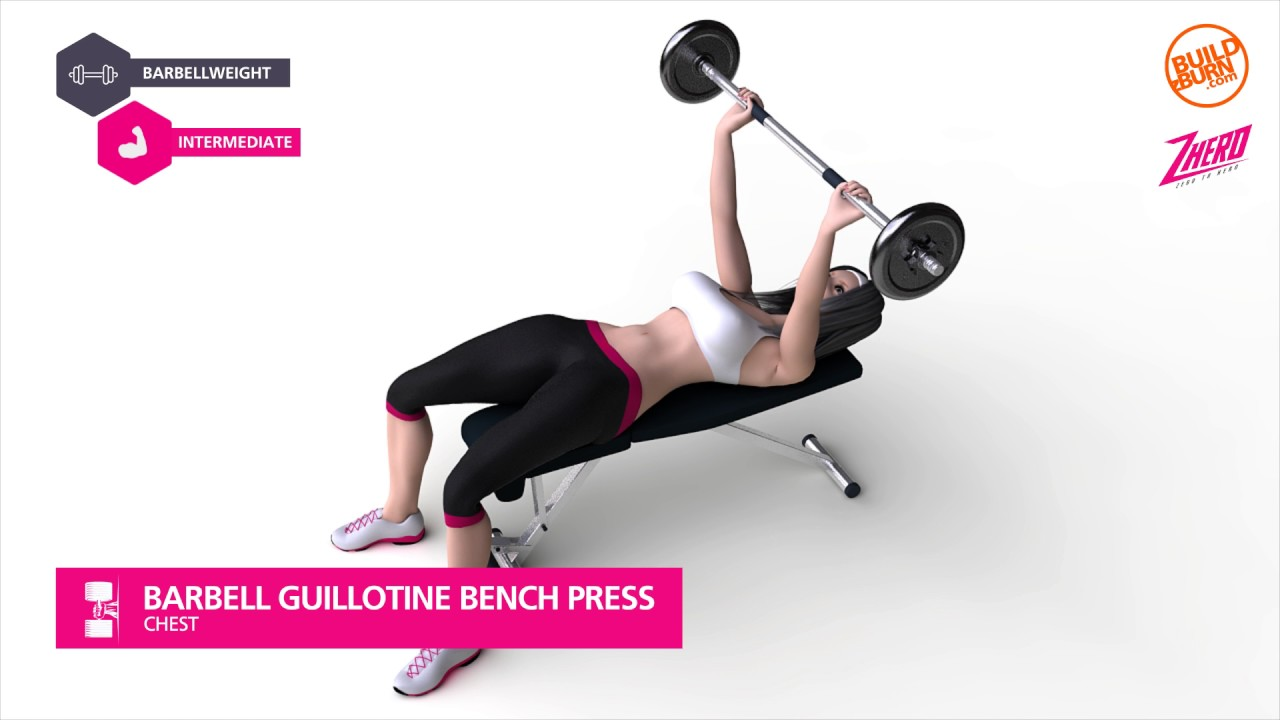 Wonderful Guillotine Bench Press Part - 11: Chest Barbell Guillotine Bench Press