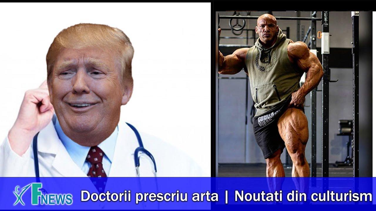 Doctorii prescriu Arta   Noutati Culturism   Fitness News