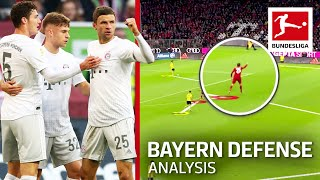 What Makes Bayern München's New Defense So Good?