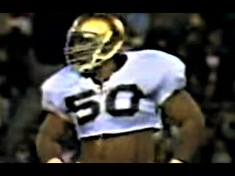 Chris Zorich, Notre Dame Football