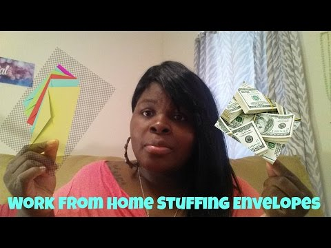Work From Home Stuffing Envelopes - 100% Free to Start!