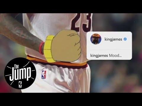Decoding LeBron James' 'Arthur' meme; Should Cavs regret trading Kyrie Irving?   The Jump   ESPN
