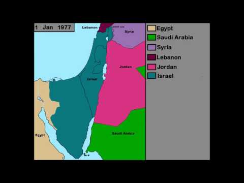 History Of Israel And Palestine (1900-2015)