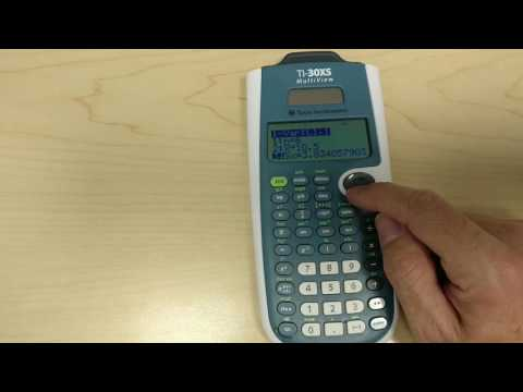 Calculating Standard Deviation On Texas Instruments