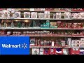 WALMART CHRISTMAS DECORATIONS CHRISTMAS VILLAGE DECOR SHOP WITH ME SHOPPING STORE WALK THROUGH 4K