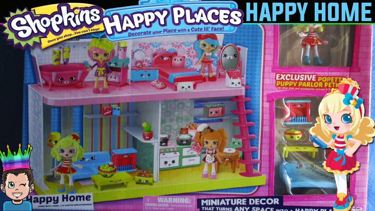 shopkins happy places happy home new 2016 playset