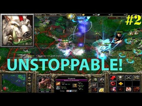 видео: dota 6.83 - БЛУДСИКЕР С ДАУНОМ В ТИМЕ :d ★ unstoppable! #2