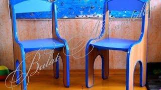 Как сделать детский стульчик своими руками. Пошаговое руководство. Children's furniture