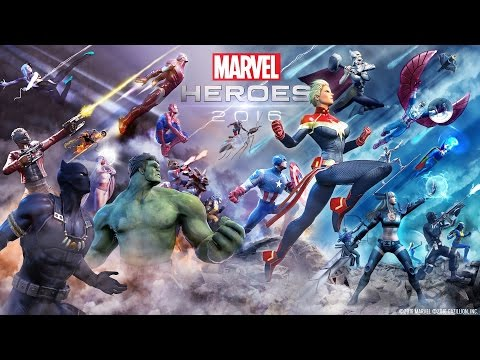 Marvel Heroes 2016 Has Arrived! - Launch Trailer