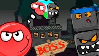 RED BALL 4 МУЛЬТИК ИГРА КРАСНЫЙ ШАРИК ПРОТИВ ЗЛОГО ЧОРНОГО КВАДРАТА #10 - развивающие мультики игры