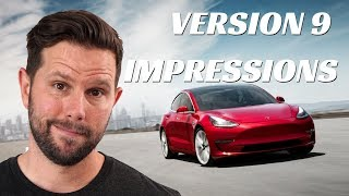 Tesla Version 9 First Impressions with Jared Mecham (Ellie and Jared)