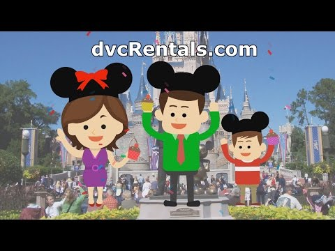 DVC Rentals Made Simple - Animation Of David's Vacation Club Rentals' Process
