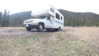 Westbound! Montana Free Camping
