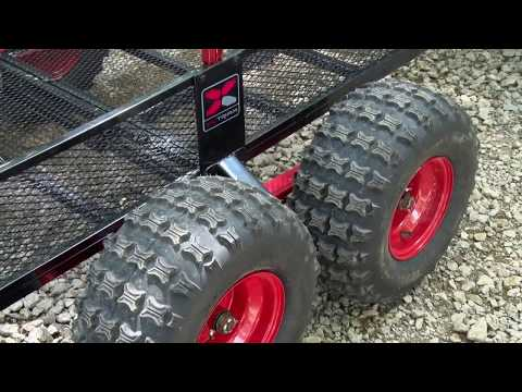 Looking for a good heavy duty trailer for behind your ATV or SXS?