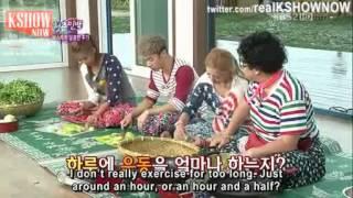 [ENG] Hyoyeon Kikwang Bora & YoungJae Umma Cooking Cut