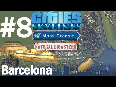 Cities SkyLines Mass Transit review - Barcelona #8.2 Estrenamos DLC!